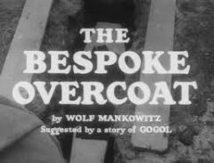 The Bespoke Overcoat 1956 DVD - David Kossoff / Alfie Bass